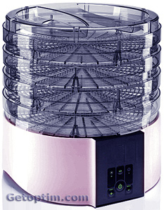 Dehydrator for fruits and vegetables